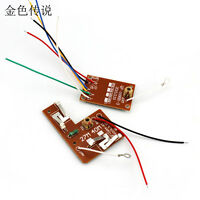 4CH 27MHZ Remote Transmitter & Receiver Board with Antenna for DIY RC Car Robot
