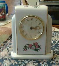 Porcelain Limited Edition (Ps)Gold Trimmed Clock