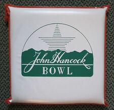 RARE 1989 JOHN HANCOCK BOWL SEAT CUSHION PITT PANTHERS vs TEXAS A&M