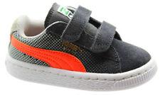 Chaussures gris en daim pour garçon de 2 à 16 ans
