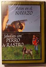 PELICULA DVD SERIE TV PERROS EN EL NAVAZO+JABALIES CON PERRO DE RASTRO PRECINTAD