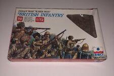 ESCI Indian War Kiber Pass BRITISH INFANTRY 50 Figures 1/72 Model 232 1983 Rare