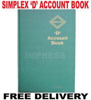 Simplex D Accounts FullYear Record Account Tax Account Book Business Record VAT