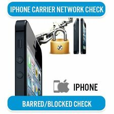 IPHONE /IPAD NETWORK CHECK + BLOCK BARRED STATUS CHECK 'ALL IN ONE' FAST SERVICE