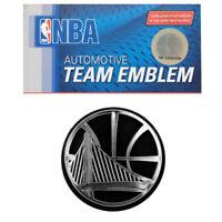 NBA Golden State Warriors Car Truck 3-D Plastic Chrome Emblem / Decal / Sticker
