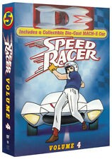 Speed Racer - Volume 4 (With The Toy car) (Box New DVD