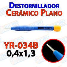 Destornillador PLANO ceramica YR-034B 0,4x1,3 ajuste pololu 3D mini ceramico