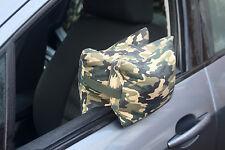 Fotocamera pouf a sacco per la fotografia, sostenendo le lenti di grandi dimensioni da un' automobile. precompilati.