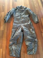 VTG US Air Force Coverall Flight Flying Men's Suit CWU 1/P 1958 Medium Long Worn
