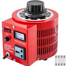 2000w Variable Transformer Ac Voltage 0 230v 110v Universal Plug Iron Shell