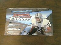 1998 Bowman Chrome Football SEALED Box   possible Peyton Manning Moss REFRACTORS