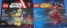 2x Lego Star Wars! C-3PO und TC-4 ( Protokoll Droide ) OVP