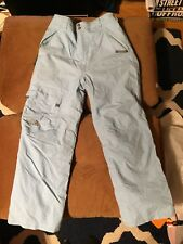 The North Face Girls Ski Snow Blue Lg Pants Hyvent