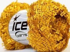 Arado #24747 Old Gold (green-gold) Ice Mini Bow Flag Ribbon Yarn DK 50g 196Y