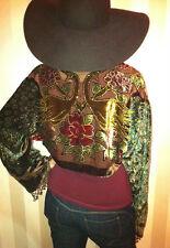 Kimono Jacket,Burnout jacket,devore jacket,velvet jacket,Fringe,bolero jacket