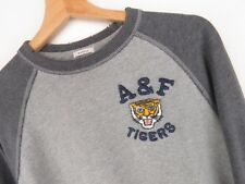 RP2542 ABERCROMBIE & FITCH SWEATSHIRT SWEAT DESTRESSED STYLE ORIGINAL VTG size M