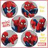 Spider-Man Stickers - 48 Dots - Party Loot Reward Charts - Birthday Spider Man