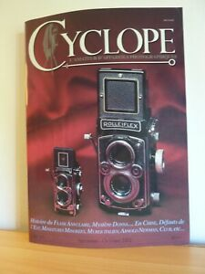 Revue CYCLOPE n°63 2002 * FLASH ANNULAIRE * MYSTERE DONNA * FORMATS DE L'EST