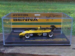 MINICHAMPS /F1 - VAN DIEMEN RF82 - AYRTON SENNA RD3 WIN - 1/43 SCALE MODEL CAR