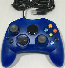 XBOX CONTROLLER GAMEPAD JOYPAD FOR THE ORIGINAL MICROSOFT XBOX - BRAND NEW BLUE