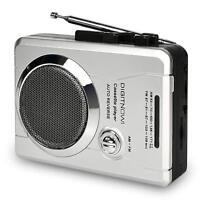 AM/FM Portable Walkman Radio and Voice Audio Cassette Recorder Cassette Player