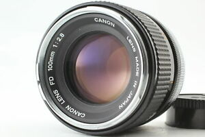 """RARE!! """" O """" [ Exc+3 ] Canon FD 100mm f/2.8 2.8 Portrait MF Lens From JAPAN"""