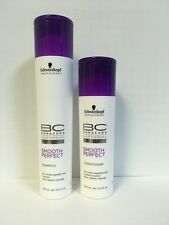 Schwarzkopf BC Bonacure Smooth Perfect Shampoo & Conditioner Duo Set - New!!