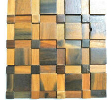 Wood Wall Tiles, Wall Coverings, Decorative Tiles, Wood Wall Decor, 3D Wall Art