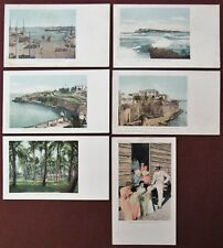 LOT OF SIX (6) 1901-1905 PUERTO RICO Views Postcards by Detroit Photographic Co