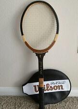 "Wilson Vintage Pro Classic Racquet 4 3/8"" Wood Pristine Condition Rare"