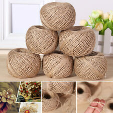 100M/1Roll Natural Hemp Twine Strong Jute Cord Thick Sisal Rope Burlap String#L1