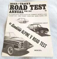 1967 Lamborghini 400 GT Vintage Road Test Info Article