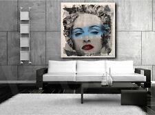 Mr. Brainwash Madonna Reproduction Pop Art Canvas Art Poster Print Wall Decor