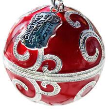 PANDORA CHRISTMAS 2017 RADIO CITY ROCKETTES EXCLUSIVE RED TREE ORNAMENT NO CHARM