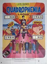 QUADROPHENIA - THE WHO / MOTORCYCLE / POP ART-ORIGINAL LARGE FRENCH MOVIE POSTER