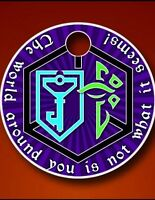 Ingress Resistance Enlightened Pathtag Geocoin Alt Geocaching Coin Token