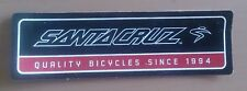 "Santa Cruz Bicycles ""Quality Bicycles"" bumper sticker"