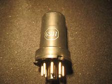 6SJ7 Vacuum Tube RCA Tested on TV-7 D/U 40/60 Metal
