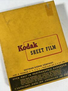 Kodak Contrast Process Panchromatic Film 25 sheets 4x5 Exp 1955