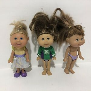 Cabbage Patch Kids Lil Sprouts Play Along Dolls X 3