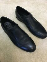 Cole Haan Air Men's Black Leather Slip On Loafers Shoes Size 12m