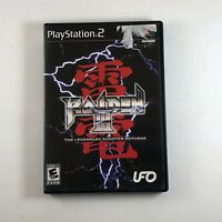 Raiden III Playstation 2 Game COMPLETE PS2 shooter raden 3 - Works Great US NTSC