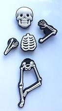 3d Esqueleto huesos encantos del zapato - 5 Piezas Para Crocs Jibbitz
