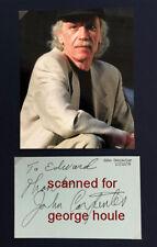 John Carpenter - Signed - Sci-Fi - Horror - Halloween - Escape From New York