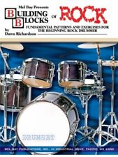 Partitions musicales et livres de chansons contemporains rock pour batterie
