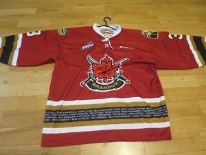 Brandon Wheat Kings XL Jersey #3 Western Hockey League