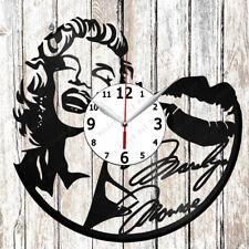 Marilyn Monroe Vinyl Wall Clock Made of Vinyl Record Original gift 2621