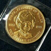 1961-1997 Diana Princess Of Wales The Princess In Memoriam Queen Of Heart Coin