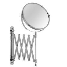 Specchio cosmetico a parete estensibile con zoom staffa regolabile trucco barba