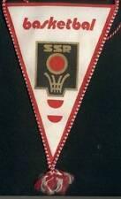 CZECHOSLOVAKIA CSSR BASKETBALL FEDERATION SMALL PENNANT 12x19cm
